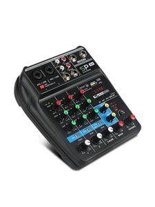 Audio-Mixer Power-Monitor Sound-Mixing-Console Plus-Effects Bluetooth Phantom 4channels