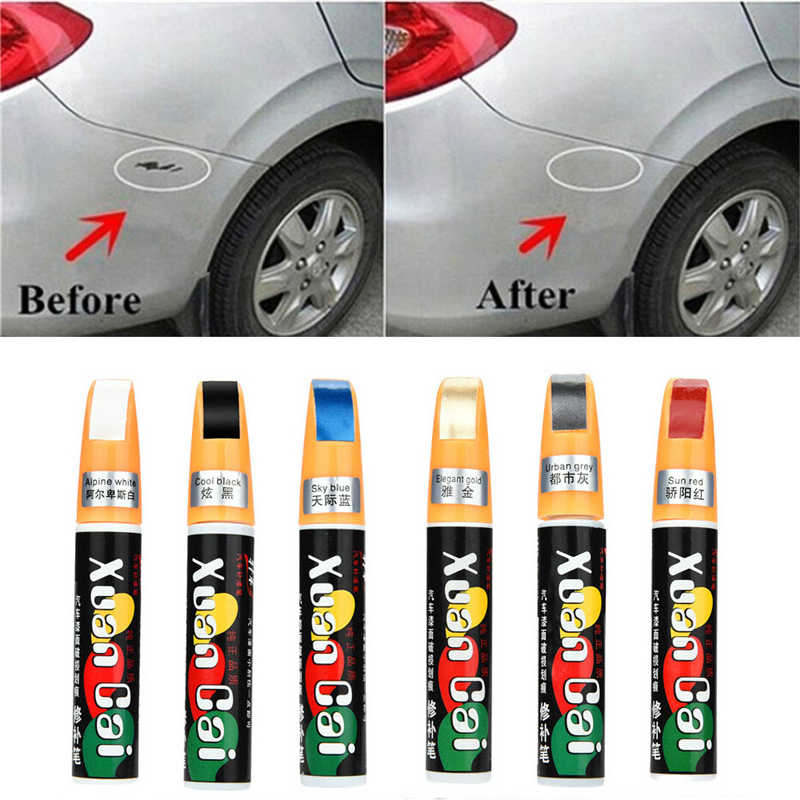 Dropshipping Car Styling Paint Care Color Car Jacket Paint Pen Touch Scratch Remove Tool Repair Remover Body Kits Exterior Parts