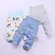 Baby Footed Pants Newborn Baby Boy Girl Leggings High Waist Infant Pants Sleeper Toddler Pajamas Baby Spring Autumn Trousers
