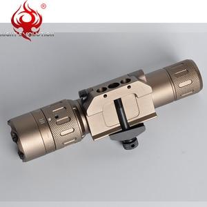 Image 4 - Night Evolution Tactical Flashlight WMX200 Red IR Light Rifle Fold Mount Hunting Lamp Gun Weapons Light NE08036
