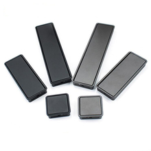 Modern Door Handles and Knobs Slotted Drawer Pulls Black Gold Kitchen Cabinet Embedded Furniture
