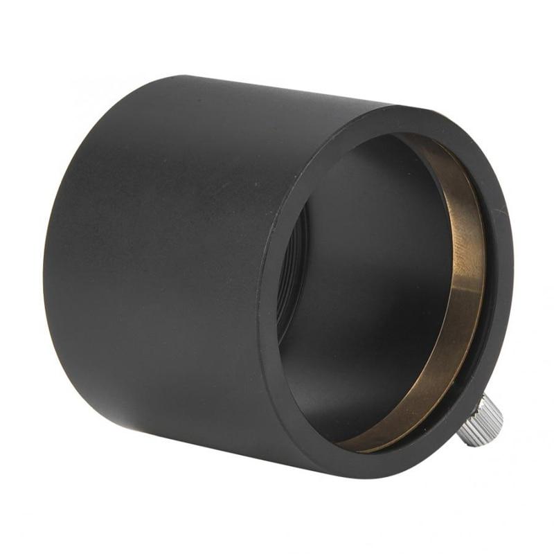 M48X0.75 Telescope Mount Adapter To Fit 2 Inch SCT Astronomy Telescope Eyepiece Telescope Adapter Monocular Brass Compression Ri
