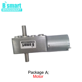 Micro Motor de caja de engranajes JGY370, 12v CC, 6V, reductor de doble eje, 6-210rpm, baja velocidad, Motor Reversible de 24V CC con engranaje helicoidal, electrodoméstico