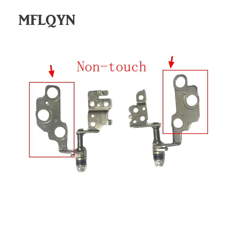 New Laptop Lcd Hinges Kit For LENOVO IdeaPad U330 U330P Right & Left Lcd Hinge Set Fit Non-Touch Screen