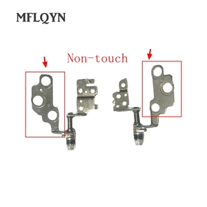 New Laptop Lcd Hinges Kit for LENOVO IdeaPad U330 U330P Right & Left Lcd Hinge Set Fit Non-Touch Screen(China)