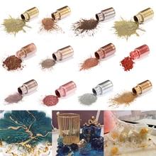 10g metalowe z teksturą proszek perłowy żywica epoksydowa barwnik blask marmuru metaliczny barwnik pigmentowy do barwienia żywicy narzędzie do wyrobu biżuterii