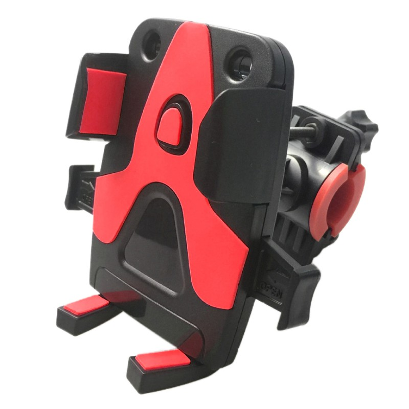 Bike Motorcycle Universal Mobile Phone Support Anti-slip Bicycle Phone Clip Bicycle Accessory