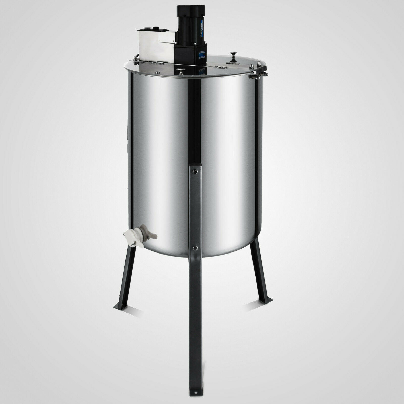 VEVOR Honey Bee Electric Extractor 4 Frame Stainless Steel Honeycomb Spinner With Free Shipping