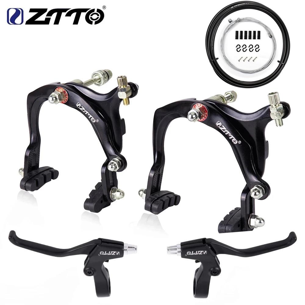ZTTO New high quality Bicycle Side Pull Brake C Calipers Rim Brake For Cruiser Kids Bike City Cycling Brake Road bike parts