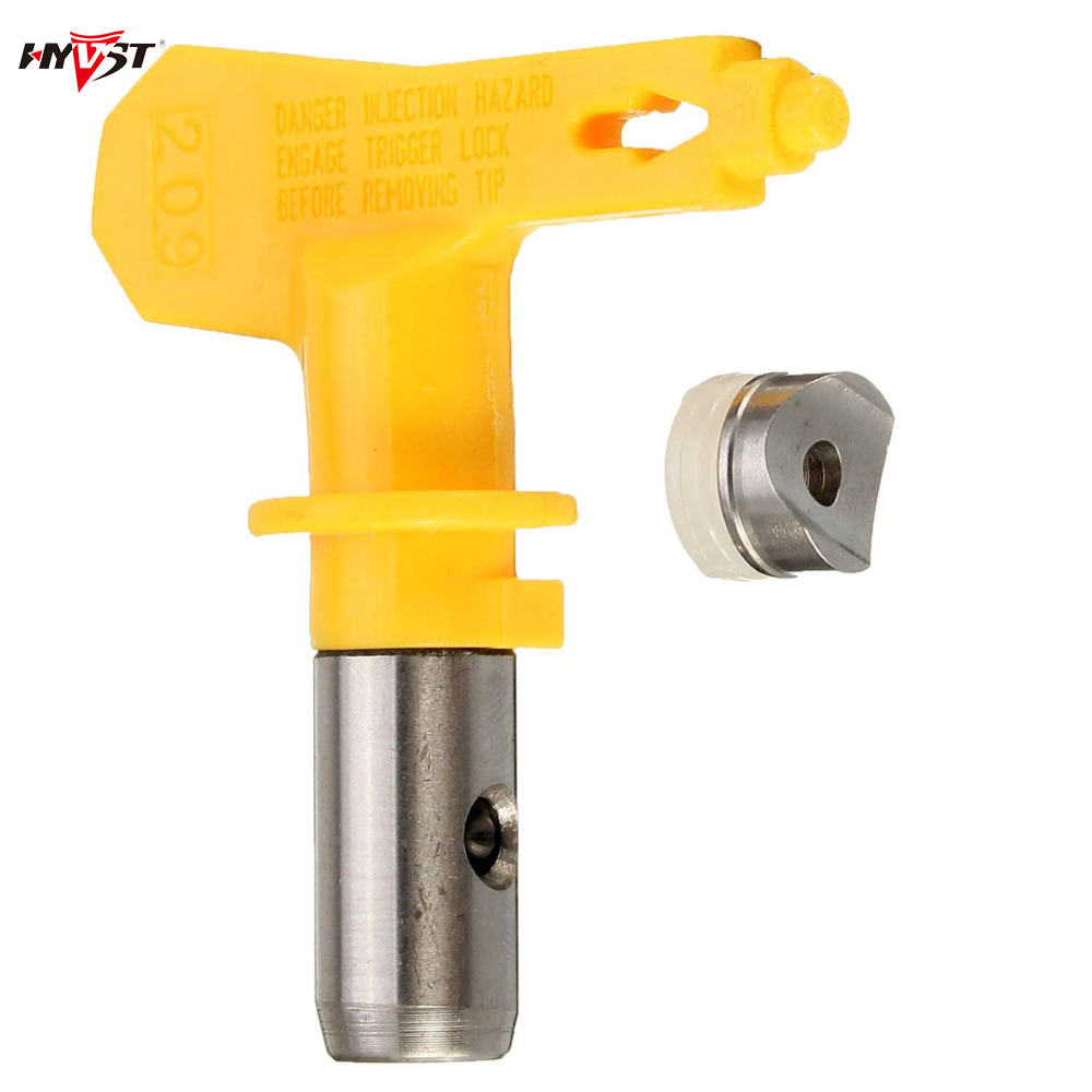 Airless Tip 525#527#523#521#531#535 nozzle Paint Spray Gun Nozzle Tungsten Steel Accessoies Tool Different Type Yellow Wholesal