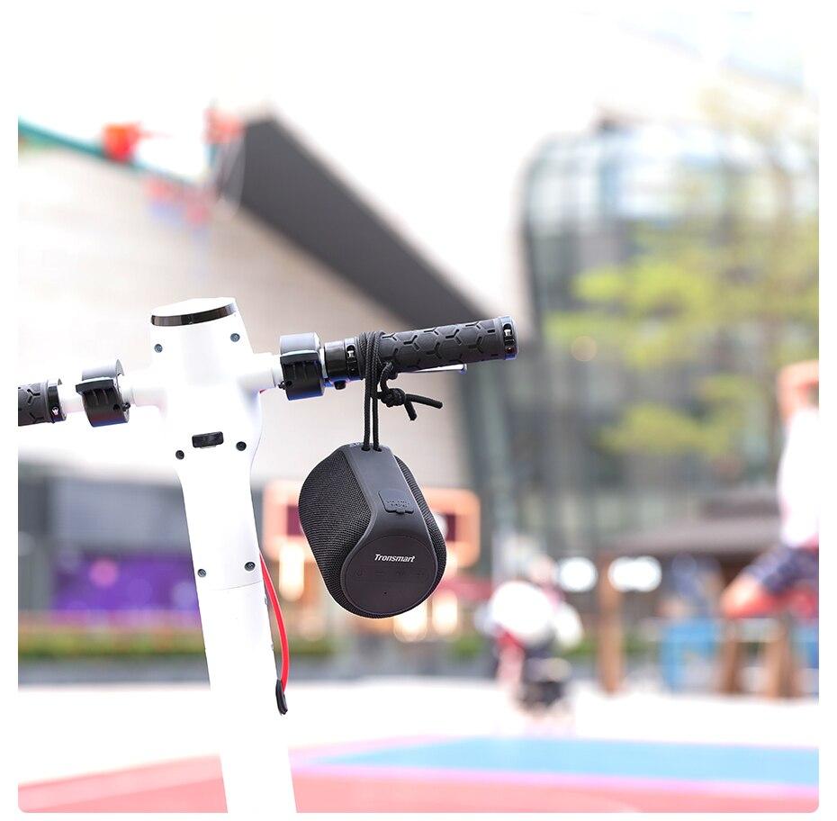 Tronsmart T6 Mini TWS Bluetooth 5.0 Speaker IPX6 Waterproof Wireless Speaker 24 Hours Play Time Outdoor Portable Speaker 15W (10)