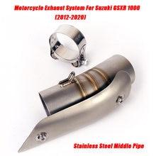 Выхлопная система среднее звено трубы для suzuki gsxr1000 2012