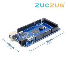 MEGA2560 R3 Мега 2560 R3 ATmega2560-16AU CH340G AVR USB модуль для arduino