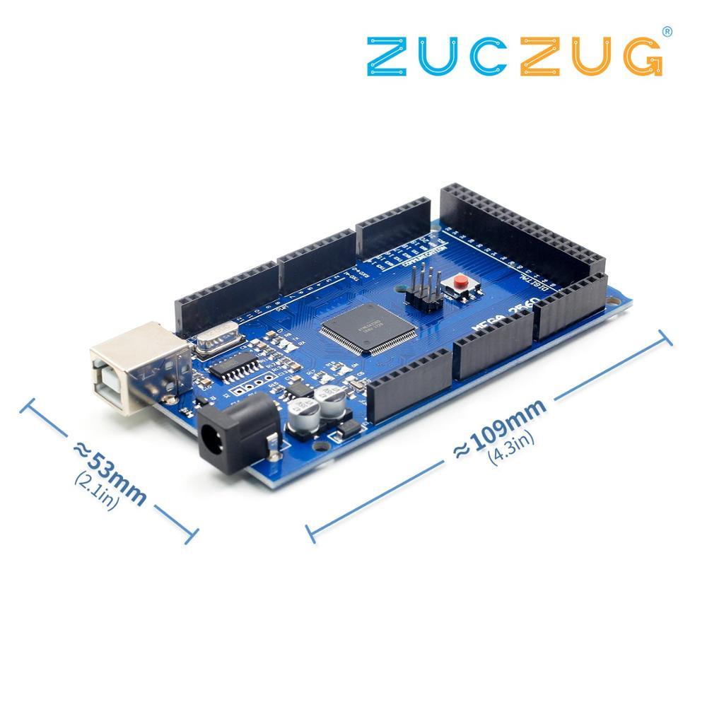 MEGA2560 R3 2560 MEGA R3 ATmega2560-16AU CH340G placa USB AVR Development board para arduino