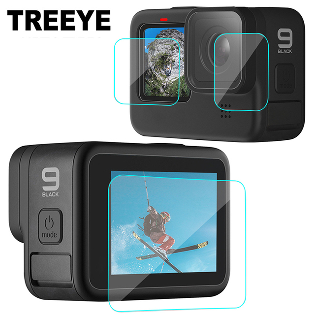 Tempered Glass Screen Protector Cover Case for GoPro Hero 9 Black Lens Protection Protective Film Gopro9 Go pro Accessories 1