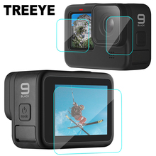 Tempered Glass Screen Protector Cover Case for GoPro Hero 9 Black Lens Protection Protective