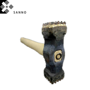 Image 2 - Alloy Hammer size 25x25 / 16x16 / 9x16 button sledge hammer with wood handle chipping bit for stone, cement concrete