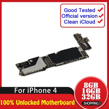 TDHHX w magazynie 8 GB 16 GB 32 GB dla iPhone 4 płyta główna w pełni sprawna odblokowana tablica logiczna dla iPhone 4 płyta główna z pełnymi chipami tanie i dobre opinie For iPhone 4 Wewnętrzny Apple iphone Shenzhen Guangdong China(mainland) Full QC Tested In Stock 8GB 16GB 32GB 100 Unlocked