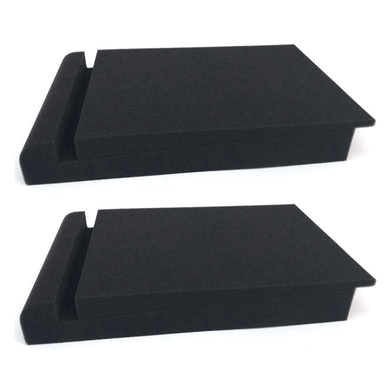 Soundproof Pad Studio Monitor Isolation Pad High Density Studio Monitor Isolation Pad For 5 Inch Display