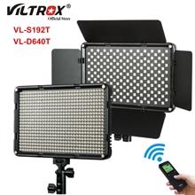 Viltrox VL D640T 50W LED Light Panel Photography Light Panel 3300k 5600k Bi color Wireless Remote Studio Video Shooting Light