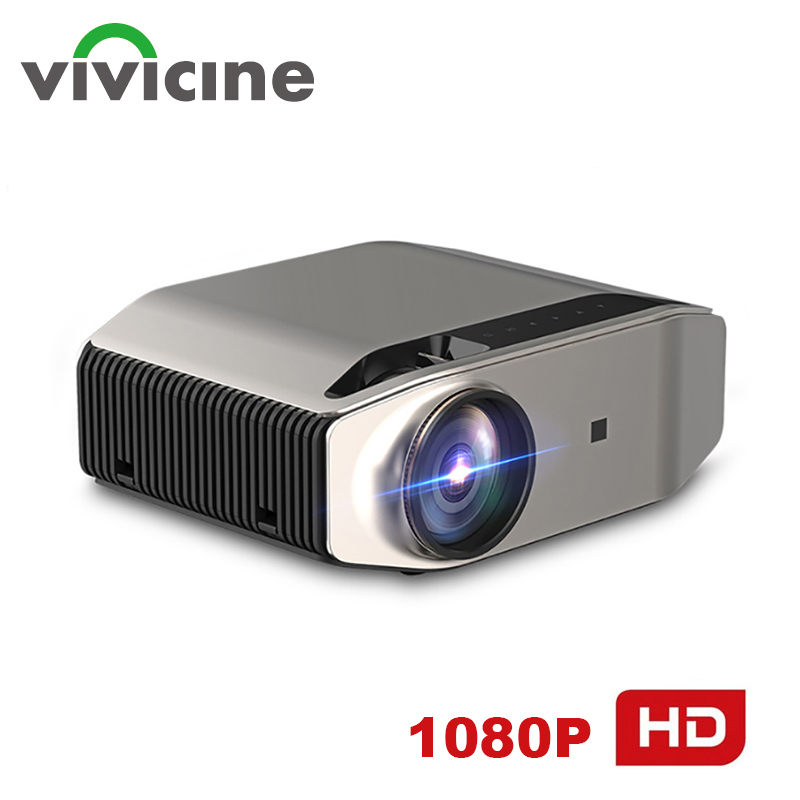 Vivicine S5 Newest 1080p Projector,Option Android 10.0 1920x1080 Full HD LED Home Theater Video Projector