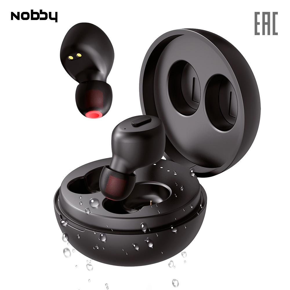 Earphones & Headphones Nobby NBE-BH-50-07 Earphone Headphone Expert T-111 Sport Portable Audio headset gaming for phone computer with microphone