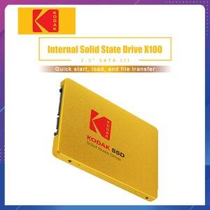 SSD Kodak X100 SSD 960GB 480GB HD SSD Hard Drive HDD 2.5 Hard Disk SSD SATA 120GB 240GB Solid State Drive for laptop computer