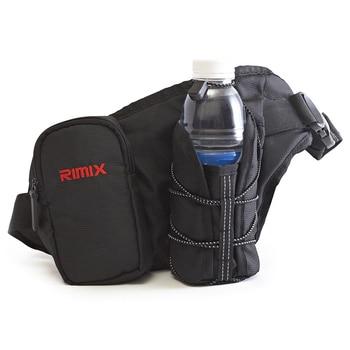 ASDS-RIMIX Sports Pockets Kettle Pockets Fitness Portable Pockets Mobile Phone Kettles Outdoor Multifunctional Pockets Black фото