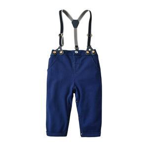 Image 5 - Conjunto de roupas de outono para meninos, roupas masculinas de bebê recém nascido com alças, body para meninos e bebês, roupas infantis para festa de meninos