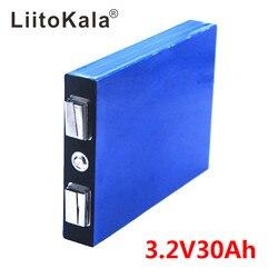 LiitoKala LiFePo4 3.2V 30AH 5C batterie 3.2V lithium bateria pour bricolage 12V lifepo4 e-bike e scooter roue chaise AGV voiture Golf chariots