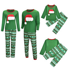 Family Look Pajamas Christmas Matching Outfits Mother Daughter Father Son Clothes A of Four Sets