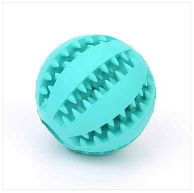 Molowa odporność na ugryzienia zabawka dla psa wyciek żywności projekt piłka zabawki dla psów gryzaki treningowe dla małych i średnich szczeniąt