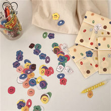 Cartoon Cute Mini Smiley Candy Hand Account DIY Decorative Sticker Seal Sticker Gift Bag Packaging Decoration Baking Party Boxes(China)