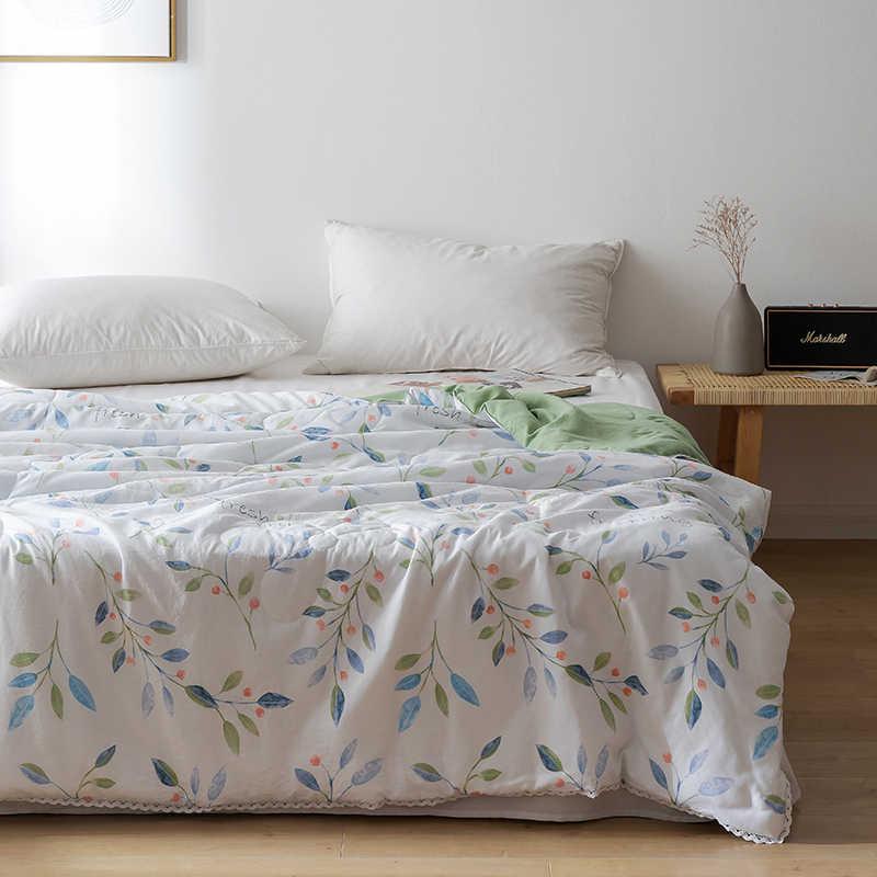 Klimaanlage Quilt Bettdecke Weiche Decke Sommer Einfache Anlage Obst Cartoon Tröster Bett Abdeckung Marke Neue