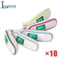 Loodom Digitale Infrarood Thermometer Voorhoofd en Oor Non-contact emperature Medische Koorts Meting Apparaat Kindje Volwassen термомет
