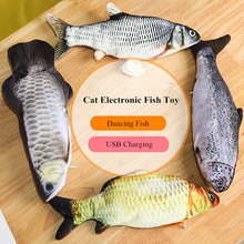 Electronic Pet Cat Fish Toy Moving Electric USB Charging Simulation Toys for Dog Chewing Playing Biting Supplies