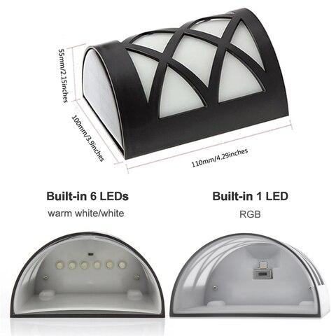 4 pacote de luz solar led 2