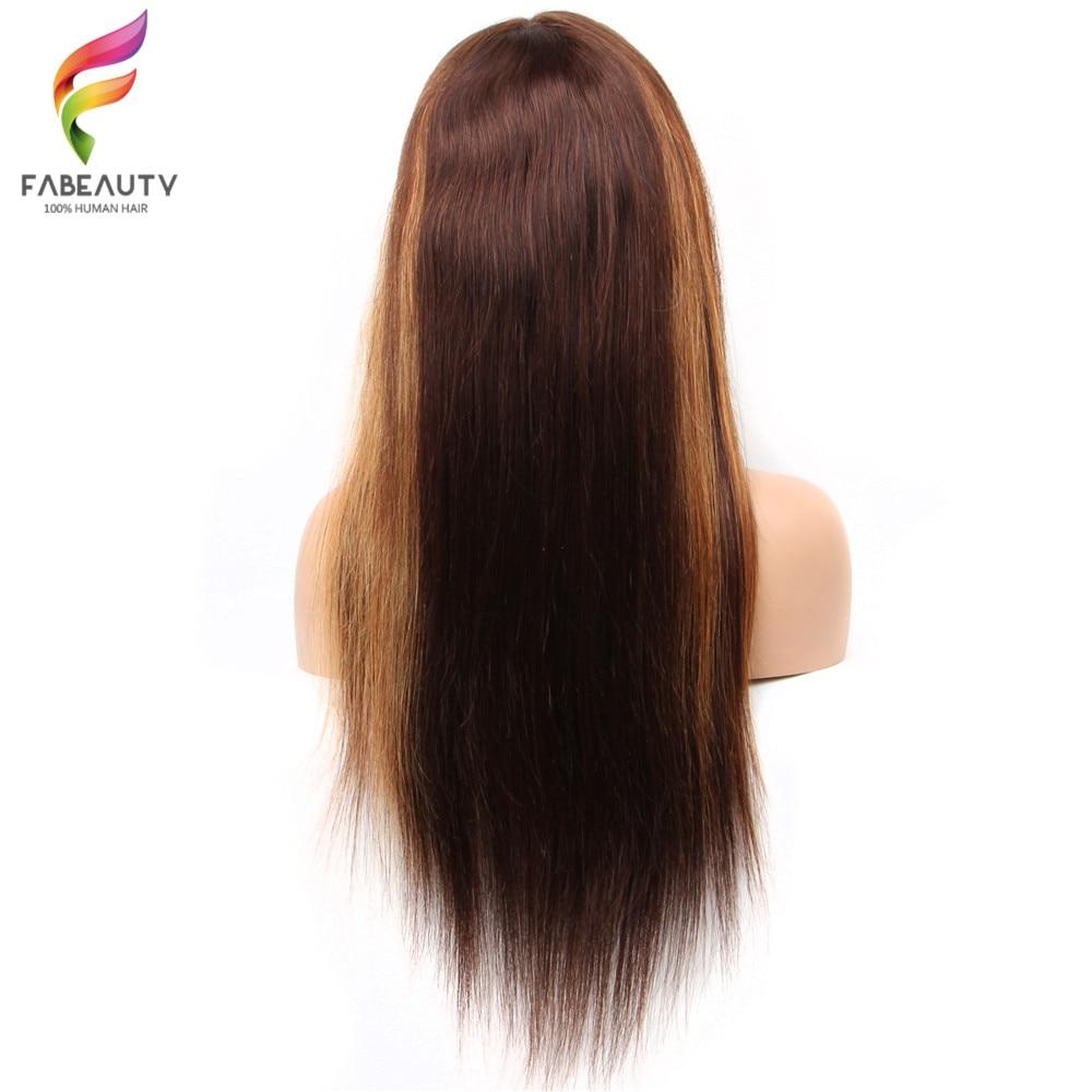 13*4 perucas do laço pré arrancadas 4 27 mel loira peruca remy