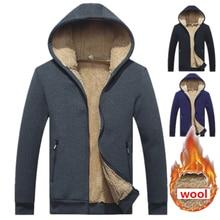 Marka yün hoodies erkekler 2019 Hoodie fermuar düz renk Hoody erkekler moda eşofman erkek kazak polar Hoody erkek M 4XL 965