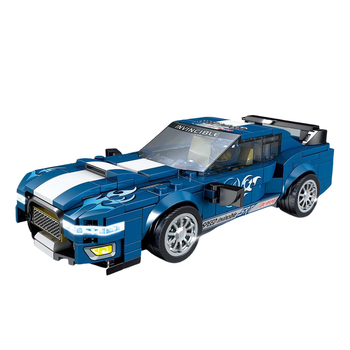 Creator Speed Champions Ford Mustang Formula Supercar 10265 Racing Car Building Blocks Racer Vehicle Bricks MOC Model Toys kids image