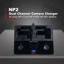 цена на ISDT NP2 18W DC Dual Channel IPS LCD Charger For Sony Camera Battery Independent Dual Channels Hybrid Quick Charge RC Toy Parts