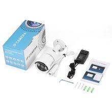 LESHP HD 4.0MP POE IP Bullet камера наружная Водонепроницаемая камера безопасности День/ночное видение Обнаружение движения интеллектуальная сигнализация