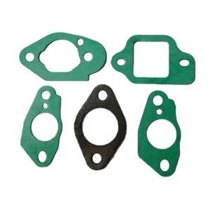 Image 2 - Набор прокладок для карбюратора 5 шт. для Honda 415 416, набор FITSIZY HRG465 GCV135 GCV160 GC135 GC160, аксессуары для двигателя, садовый инструмент