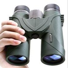 Profissional hd 8x42 10x42 bak4 binóculos uscamel telescópio militar caça acampamento ao ar livre à prova dwaterproof água visão noturna telescópio