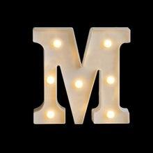 LED Luminoso Carta Luz noturna Criativo 26 Alfabeto Ingles Bateria Luminária Romântico Casamento Festa Decoração Natal Presente aniversário festival ano Novo decoração Proposta de casamento 16 cm