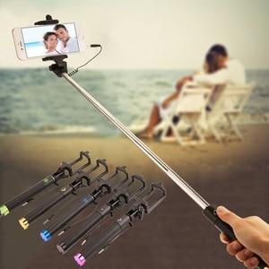 Image 5 - Selfiestick extensível para huawei p30 p20 companheiro 20 pro lite p inteligente 2019 nova 4 3 3i com fio selfie vara bastone selfi para movil