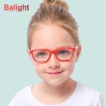 Детские гибкие силиконовые анти-синий светильник, оптические очки, гибкие цельные безопасные очки, простые зеркальные очки, оправа для очков