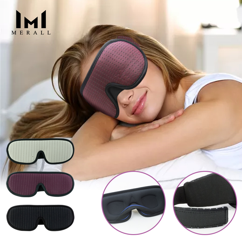 Blocking Light Sleeping Eye Mask Soft Padded Travel Shade Cover Rest Relax Sleeping Blindfold Eye Cover Sleep Mask Eyepatch