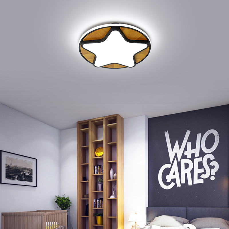 Lustre nordique dessin animé moderne Led lustre pour enfants chambre enfant chambre chambre déco lustre éclairage lampe à Led luminaires