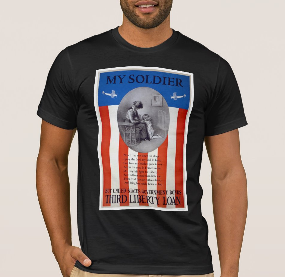 My Soldier - Buy United States Government Bonds Men's T Shirt image